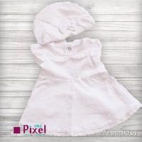 Бяла рокличка за новородено
